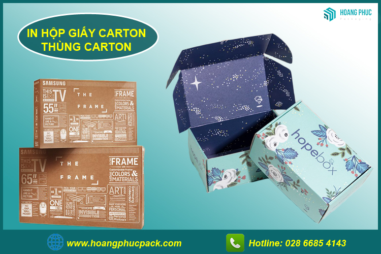 In hộp giấy carton