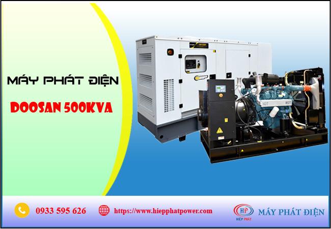 Máy phát điện Doosan 500kva